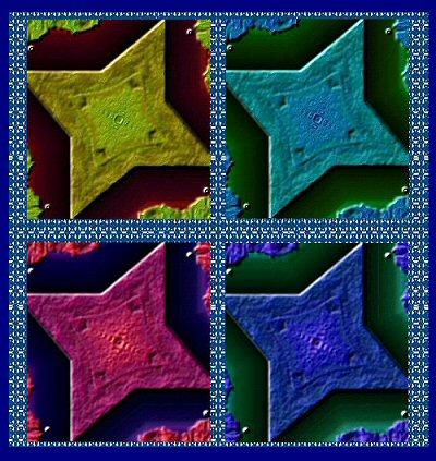 4four clay stars